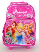 Disney Princess Rolling Backpack 17 inches