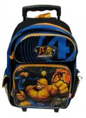 Fantastic Four Large Rolling Backpack 18 inches