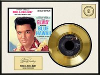 Elvis Presley, Rock-A-Hula Baby, Framed Gold Record