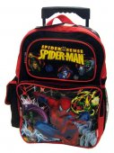 Spiderman Rolling Backpack 18 inches