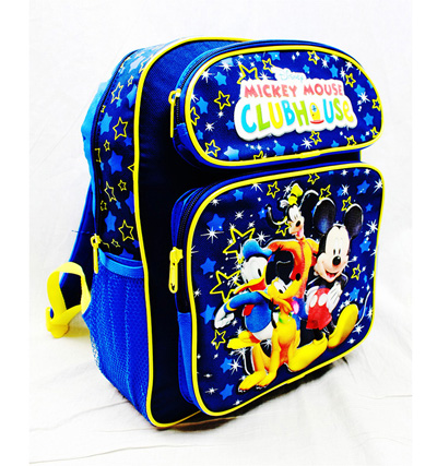 Mickey Mouse Clubhouse Medium Backpack, MC24795